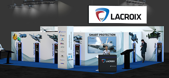 Lacroix Defense Paris Air Show 2017 Le Bourget Stand